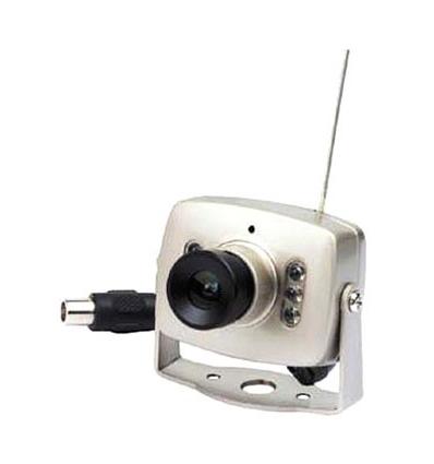 Mini kamera (naktinio matymo, belaidė, 2.4GHz)
