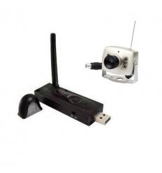 USB belaidis imtuvas su nakt. mat. kamera (2.4GHz)