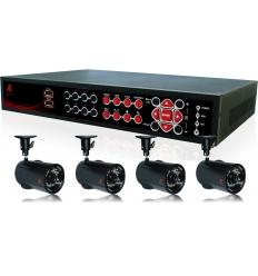 Vaizdo stebėjimo sistema (Ai-D386 + 4 x Ai-WP38, lauko)