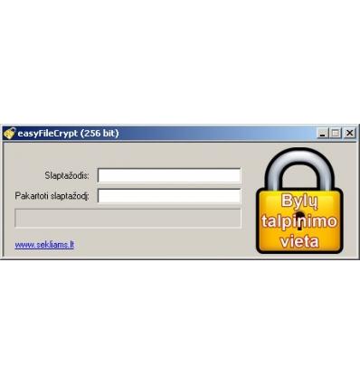 Kompiuterio bylų šifravimas