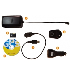 GPS seklys gSat M10 su magnetais